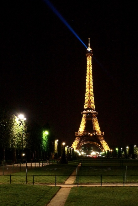 Eiffl Tower at Night