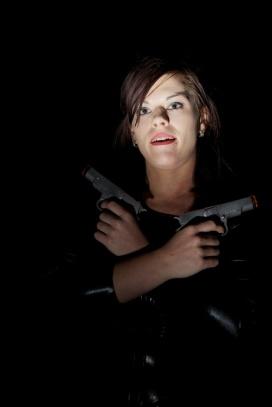 Girl with guns… Girl with guns