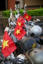 Flags on bikes